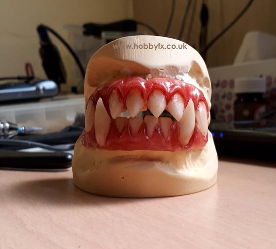 Movie Quality Teeth ! - CustomFangs co uk - HobbyFX co uk